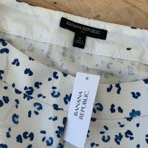 BANANA REPUBLIC Textured Skirt NWT